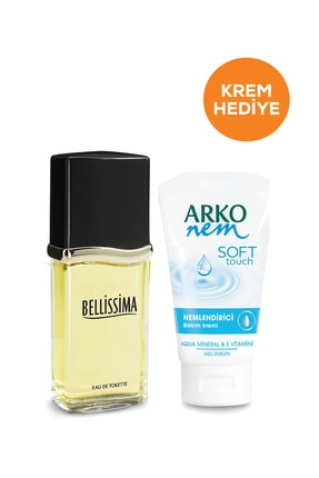 Bellisima Bellissima Edt Kadın Parfüm 60 ml & Arko Soft Touch Krem 75 ml Hediye 0