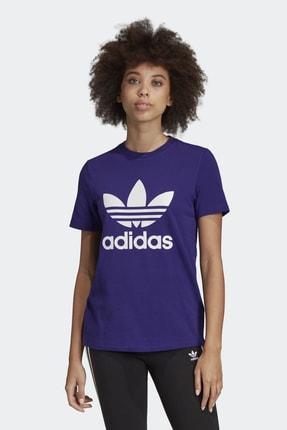adidas Kadın Originals T-shirt - Trefoil Tee - ED7497 0