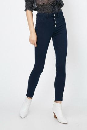 Koton Kadın Mavi Pantolon 0YAK47341DD 1