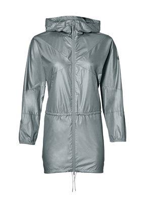 Asics & Onitsuka Tiger Kadın Gri Ceket 0