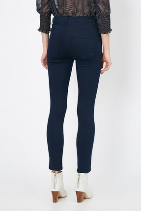 Koton Kadın Mavi Pantolon 0YAK47341DD 3