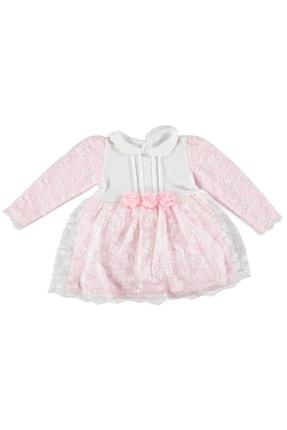 Picture of Bebek Çiçek İnterlok Bebe Yaka Elbise
