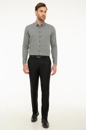 Erkek Siyah Slim Fit Pantolon G021GL003.000.851021