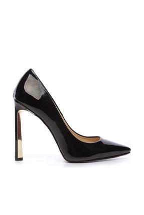 Kemal Tanca Siyah Kadın Vegan Stiletto Ayakkabı 22 6213 BN AYK Y19 0