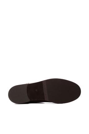 Kemal Tanca Hakiki Deri Kahverengi Kadın Çizme Çizme 94 6429 C BN CZM 2