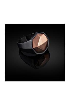 Bysilverstone Erkek Siyah Klasik Model Gümüş Yüzük 0