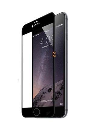Telefon Aksesuarları İphone 6 - 6S Kavisli Esnek Nano Zengin Çarşım Ekran Koruyucu Siyah 2