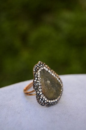 Stoneage Kristopras Taşlı Ayarlanabilir Bayan Yüzük 1