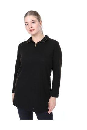 Kadın  Bluz Siyah L2315 resmi
