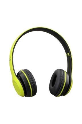 İlkDağ P47 Wireless Bluetooth 5.0 + Edr Kablosuz - Extra Bass - Fm Radyo Kafa Üstü Kulaklık 0