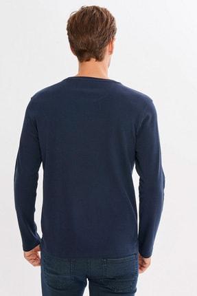 Mcl Giyim Erkek Lacivert Sweatshirt - 19KE00B29865-05 3