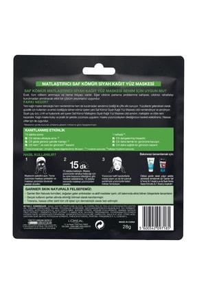 Garnier Siyah Yosunlu Gözenek Sıkılaştırıcı Kağıt Yüz Maskesi 3'lü Set 36005420971782 3