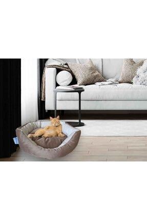 Kedi Yatağı Köpek Yatağı Yavru Kedi Yatağı Yavru Köpek Yatağı Kombin Kahve est01326