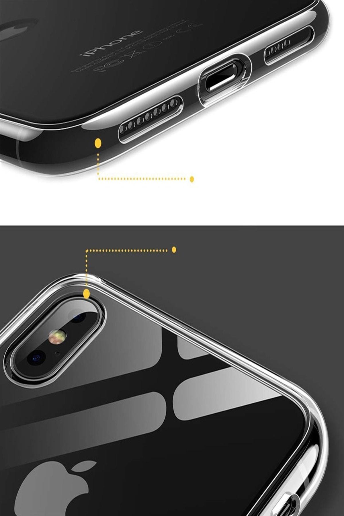 Mopal Iphone X/xs Slim Silikon Kılıf Şeffaf 2