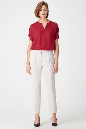Naramaxx Kadın Bej Pantolon 0