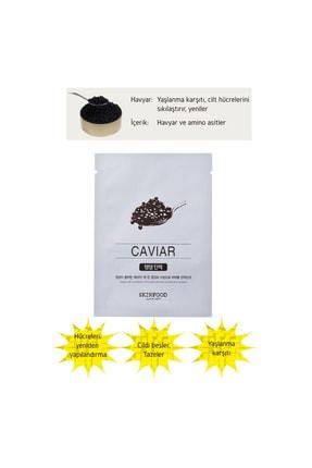 Skinfood Tek Kullanımlık Yüz Maskesi Havyar 18 ml  8809427868949 1