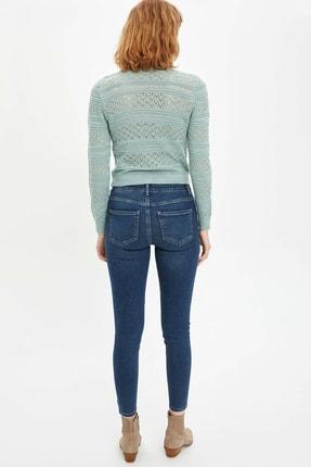 Defacto Kadın Yeşil Agata Super Skinny Jean Pantolon M8338AZ.20SP.NM41 1