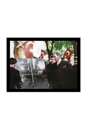 mağazacım Atatürk Harf Devrimi 50 Cm X 70 Cm Kanvas Tablo Tbl1201 0