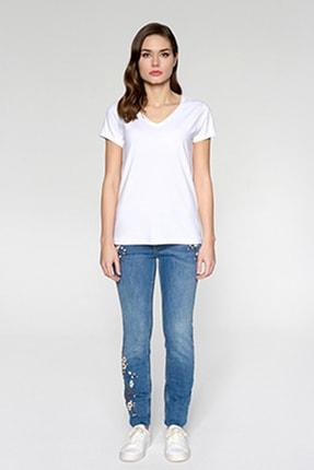 Tchibo Basic V Yaka Kadın Tişört 106794 0