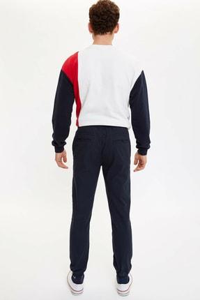 Defacto Erkek Lacivert Jogger Dokuma Pantolon M5463AZ.20SP.NV100 2