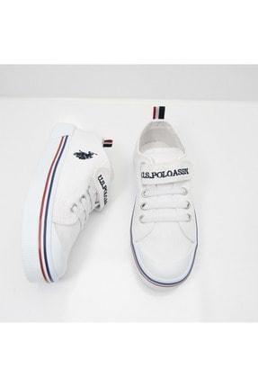 US Polo Assn PENELOPE 1FX Beyaz Erkek Çocuk Sneaker 100910628 2