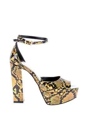 Bambi Altın Kadın Abiye Ayakkabı L0501816107 1