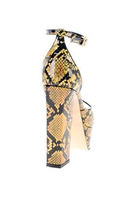 Bambi Altın Kadın Abiye Ayakkabı L0501816107 3