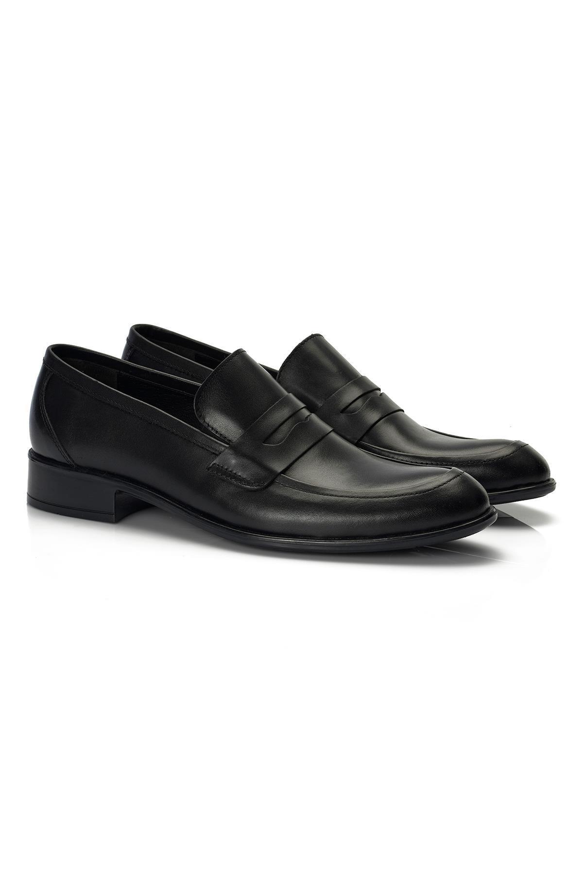 Muggo H040 Hakiki Deri Klasik Erkek Ayakkabı 1