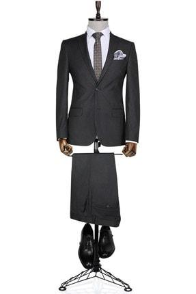 تصویر از کت و شلوار مردانه خاکستری