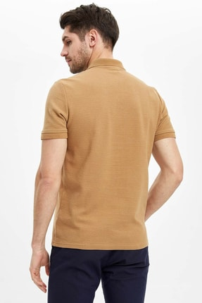 Defacto Regular Fit Polo Yaka Basic Kısa Kollu Tişört 3