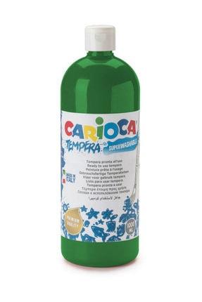 Carioca Carioca Tempera Yıkanabilir Poster Boya 1000 ml. KOYU YEŞİL 0