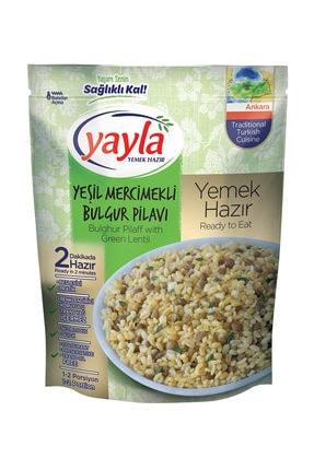 Yayla Yemek Hazır Yeşil Mercimek Bulgur Pilavı 250gr 0