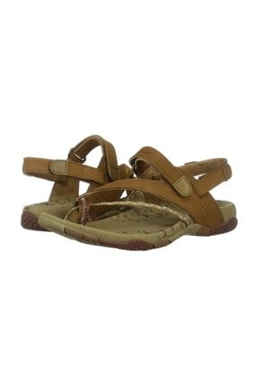 Merrell J36418 Siena Lıght Brown Kadın Sandalet 1