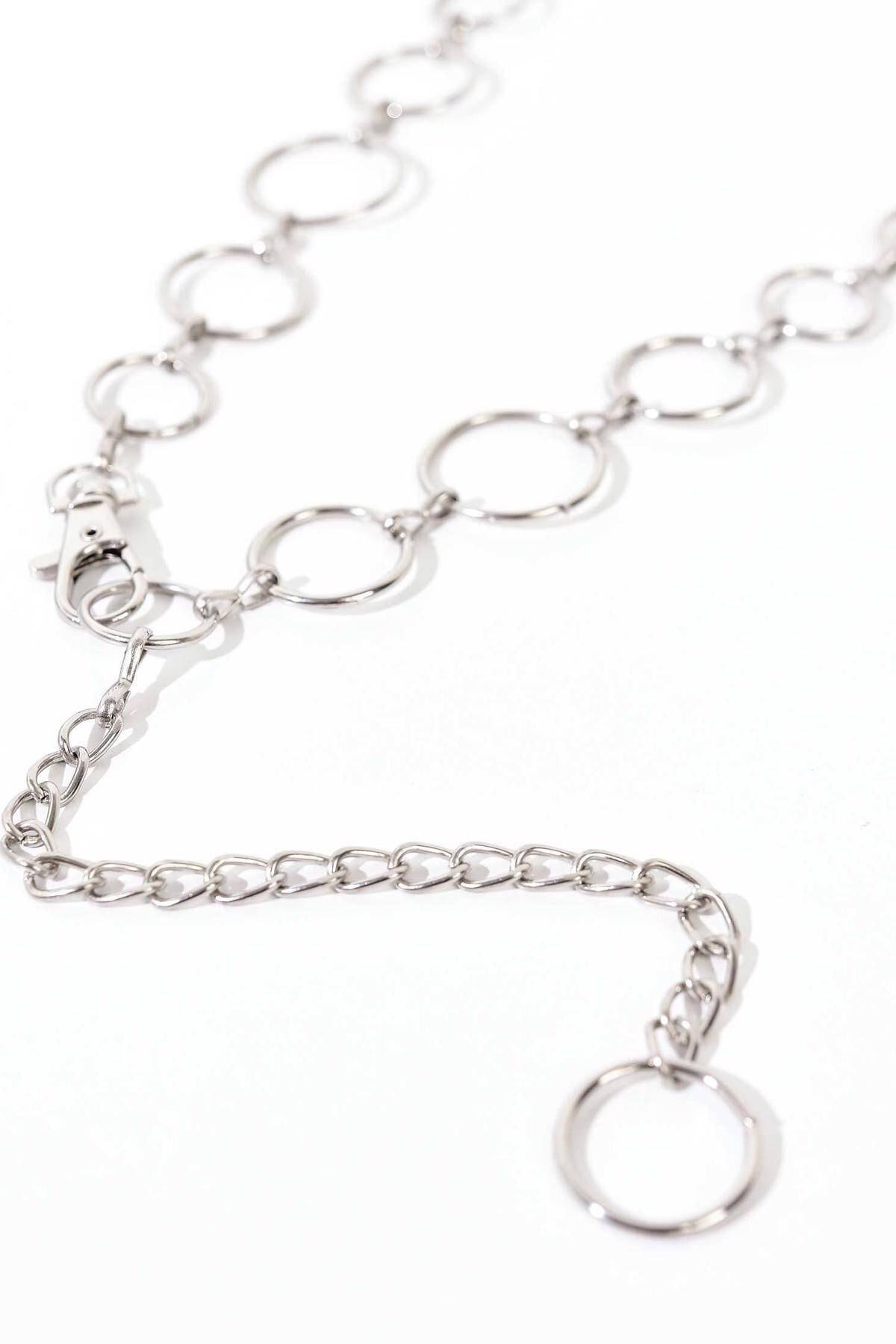Addax Kadın Gümüş Zincir Zncr11 - K2 Adx-0000019991 3