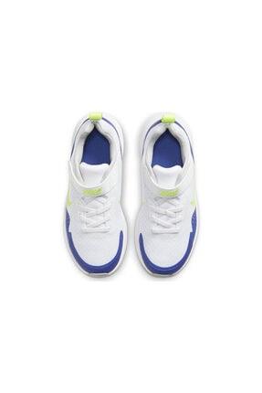 Nike Unisex Çocuk Beyaz Spor Ayakkabısı Cj3817-104 Wearallday 2