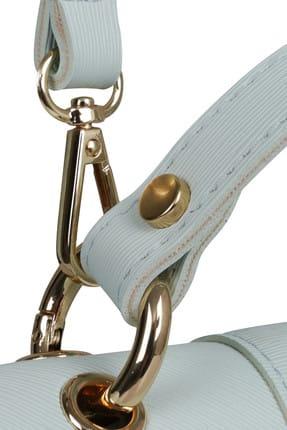 Beverly Hills Polo Club Kadın Desenli Sırt Çantası Beyaz, Turkuaz 4