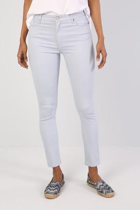 Colin's Super Slim Fit Kadın Açık Mavi Pantolon 3
