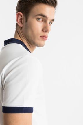 Ltb Erkek  Beyaz Polo Yaka T-Shirt 012198452060880000 1