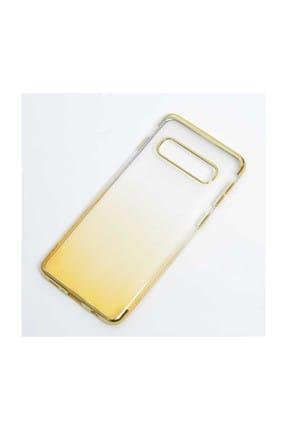 Edelfalke Galaxy S10 Plus Moss Silikon Kılıf Gold 0