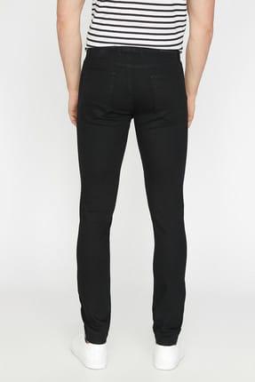 Koton Erkek Siyah Pantolon BSC 3