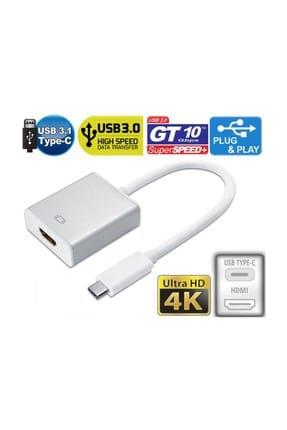 Onten Type C 3.1 HDMI 4K Ultra HD 2160p TV Projeksiyon Görüntü Aktarıcı 0