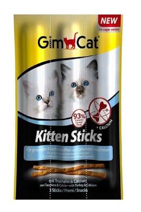 Gimcat Kitten Stick Yavru Ödül Çubuğu 3 gr 3 adet 0
