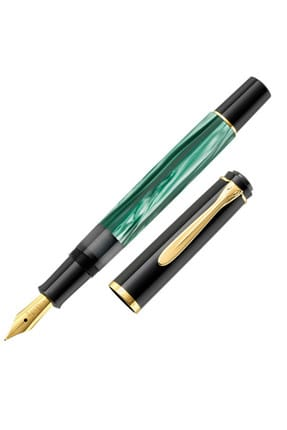 Pelikan M200 Dolma Kalem Yeşil Sedef Fine Uç 1