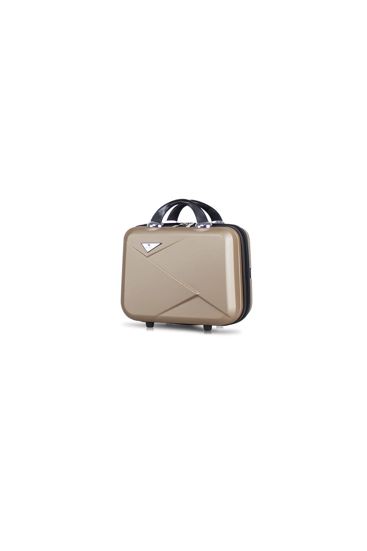 Gold Unisex Makyaj Çantası MV8190