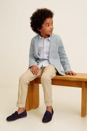 Mango Bej Erkek Çocuk Pantolon 43035013 4