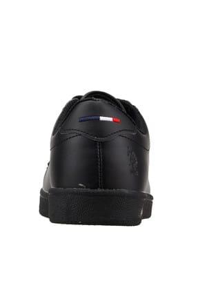 US Polo Assn Franco Siyah Kadın Sneaker Ayakkabı 100325581 3