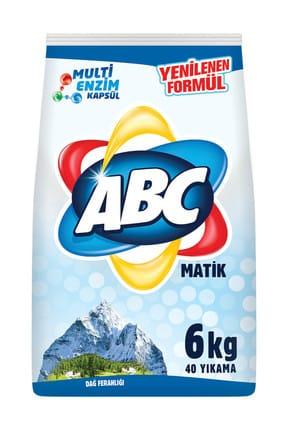 ABC Matik Çamaşır Deterjanı Dağ Esintisi 6 kg 0