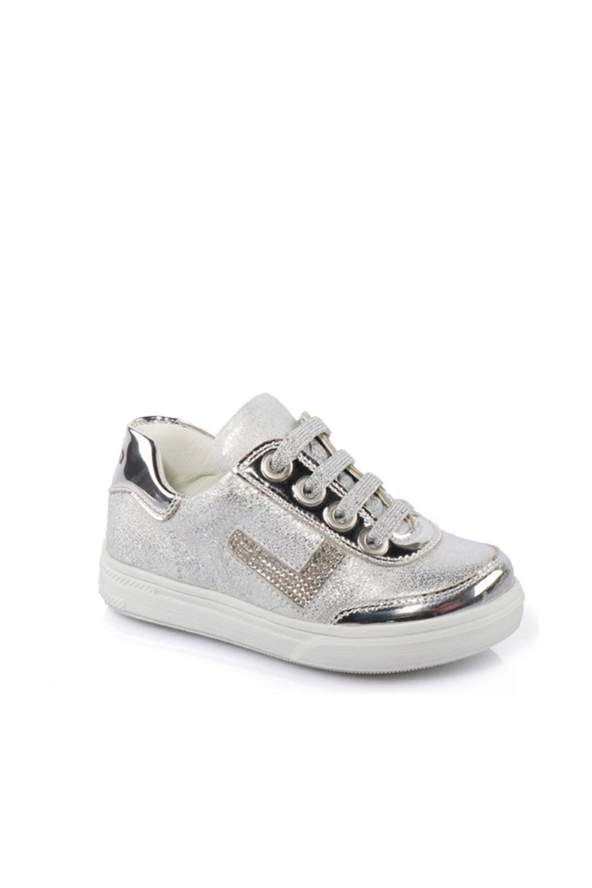 Deri Ayakkabı Gümüş