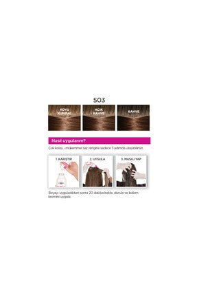 L'Oreal Paris Saç Boyası - Casting Creme Gloss 503 Altın Çikolata 3600523302857 4