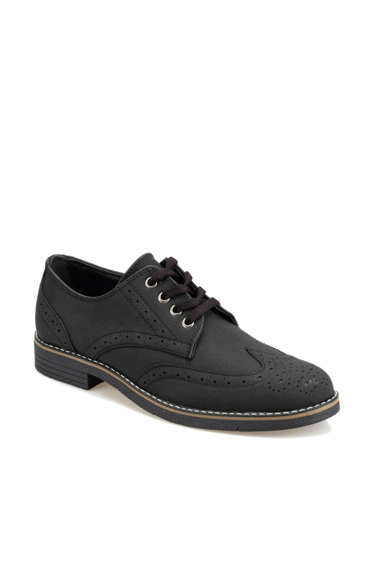 92.356133.M Siyah Erkek Klasik Ayakkabı 100413990